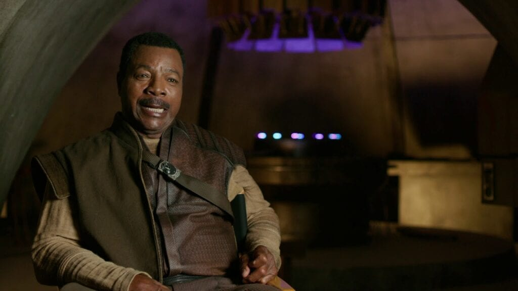 Carl Weathers Interview on Disney Gallery: The Mandalorian, Episode 3 [Source: Disney Plus]