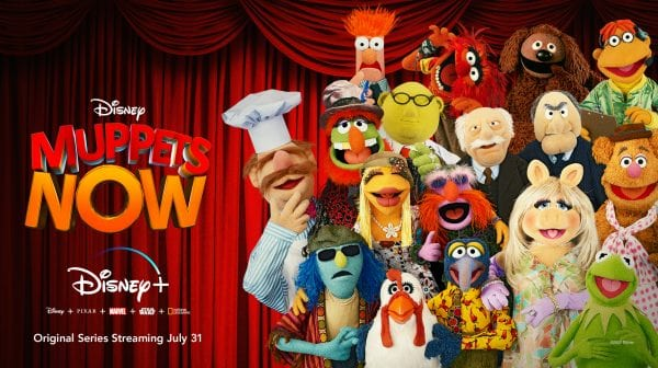 Official Poster of Muppets Now [Source: Disney Plus]