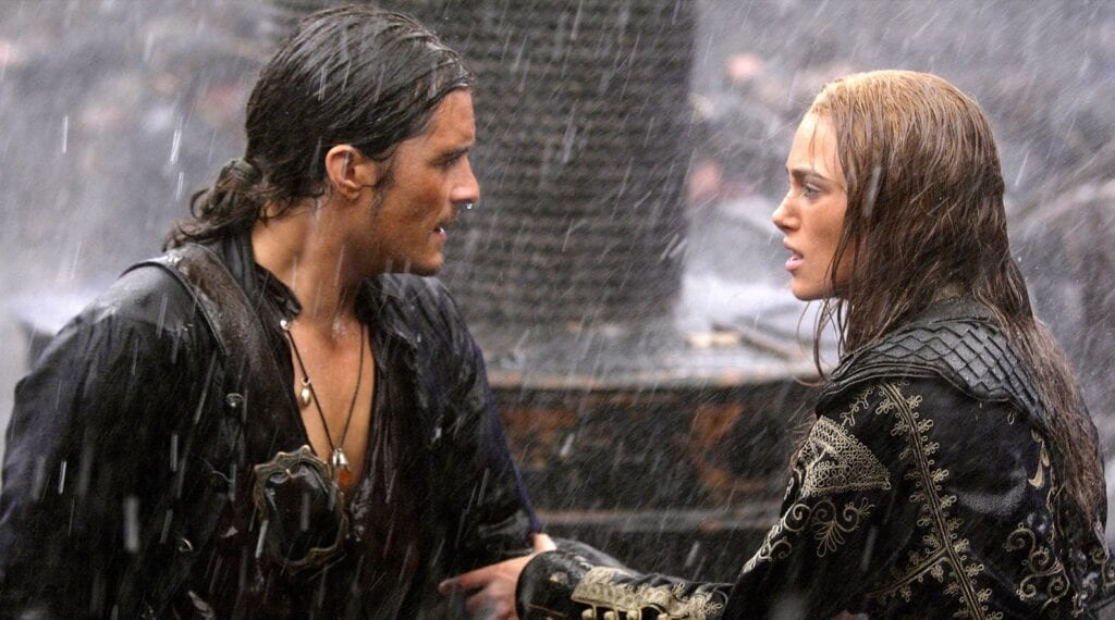 Elizabeth and William in Pirates of the Caribbean: At World's End [Source: Disney Pirates of the Caribbean]