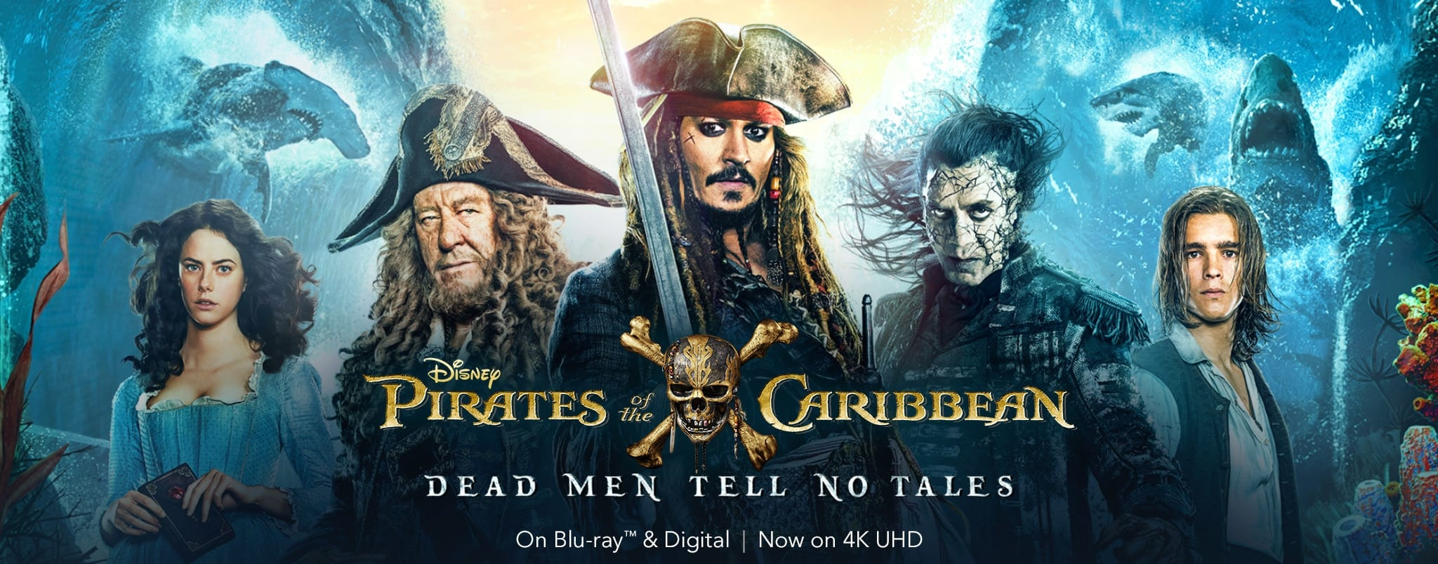 Pirates of the Caribbean: Dead Men Tell No Tales Poster [Source: Disney Pirates of the Caribbean]