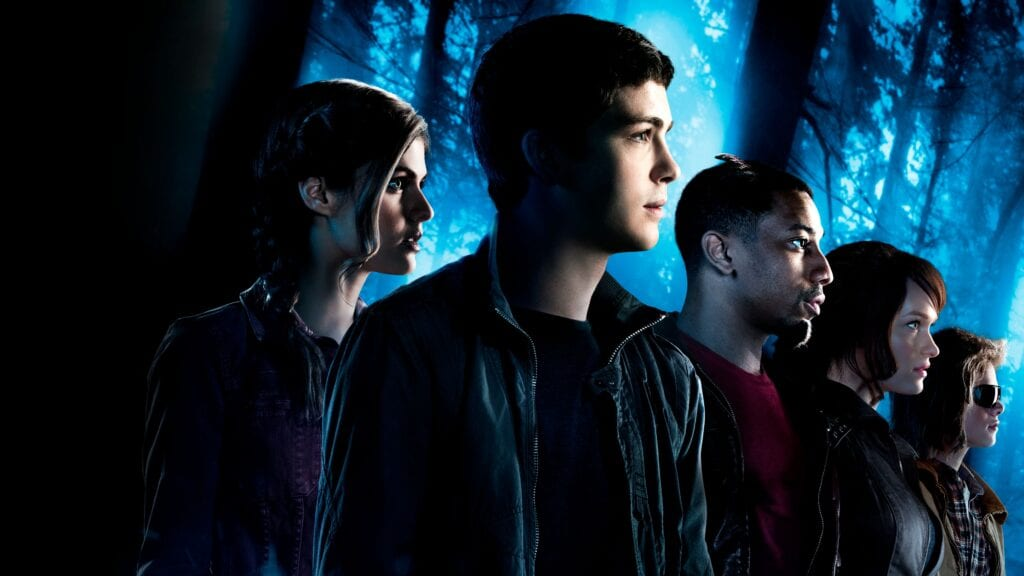 A Screenshot of Percy Jackson and The Sea of Monsters film [Source: Disney Plus]