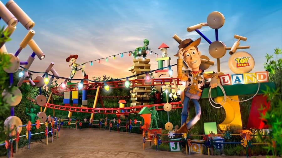Toy Story Land [Source: Disney World]