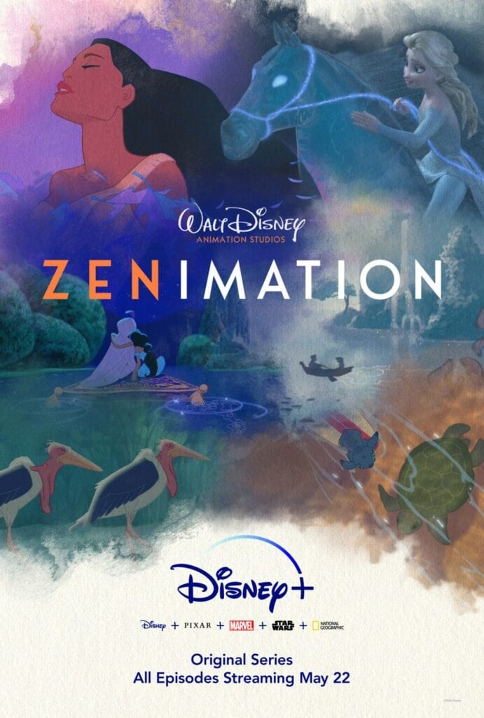 What Is Disney Animation's 'Zenimation' on Disney Plus? [Source: Disney Plus]