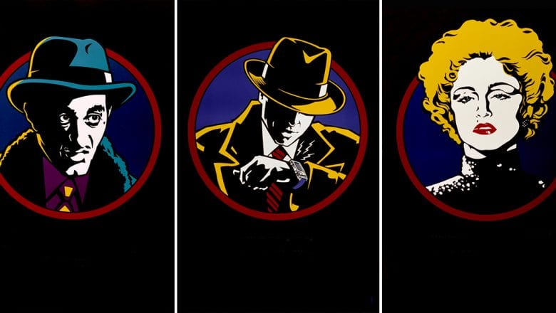 Dick Tracy 30th Anniversary Collection [Source: The Walt Disney Archives]