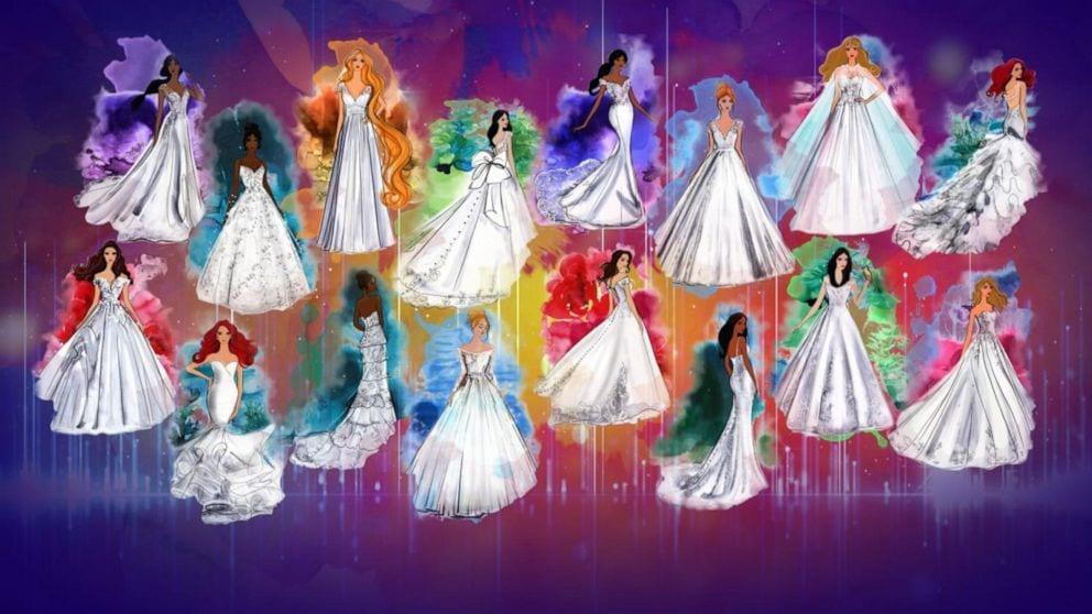Disney Fairytale Bridal Wedding Dress Collection 2020
