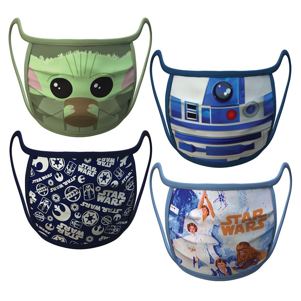 Official Star Wars Disney Face Mask Coverings [Source: ShopDisney]