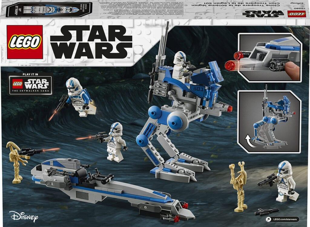LEGO Star Wars: 501st Legion Clone Troopers [Source: Star Wars]