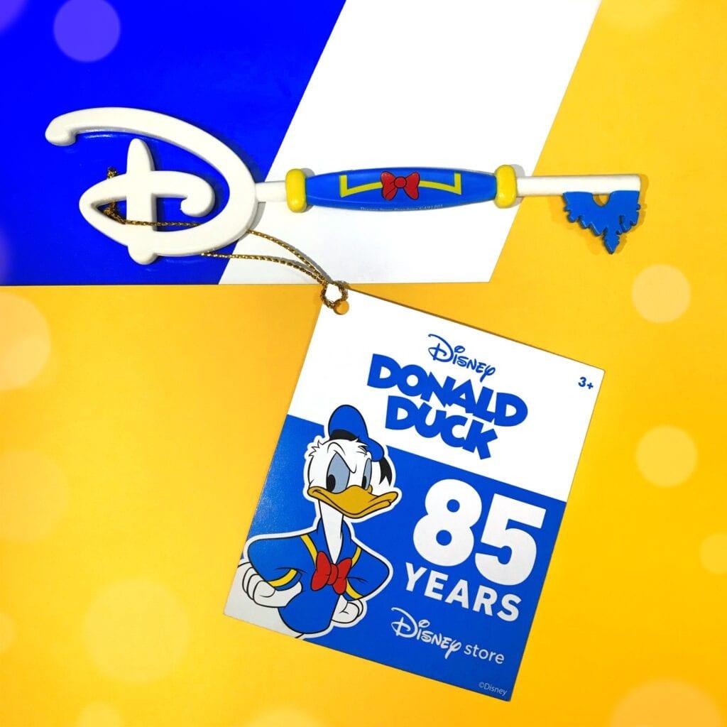 Donald Duck Disney Store Key [Source: ShopDisney UK via Facebook]