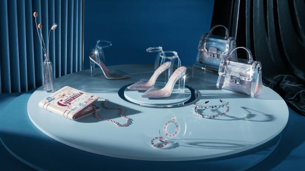 Aldo x Disney Cinderella Shoes Glass Slipper