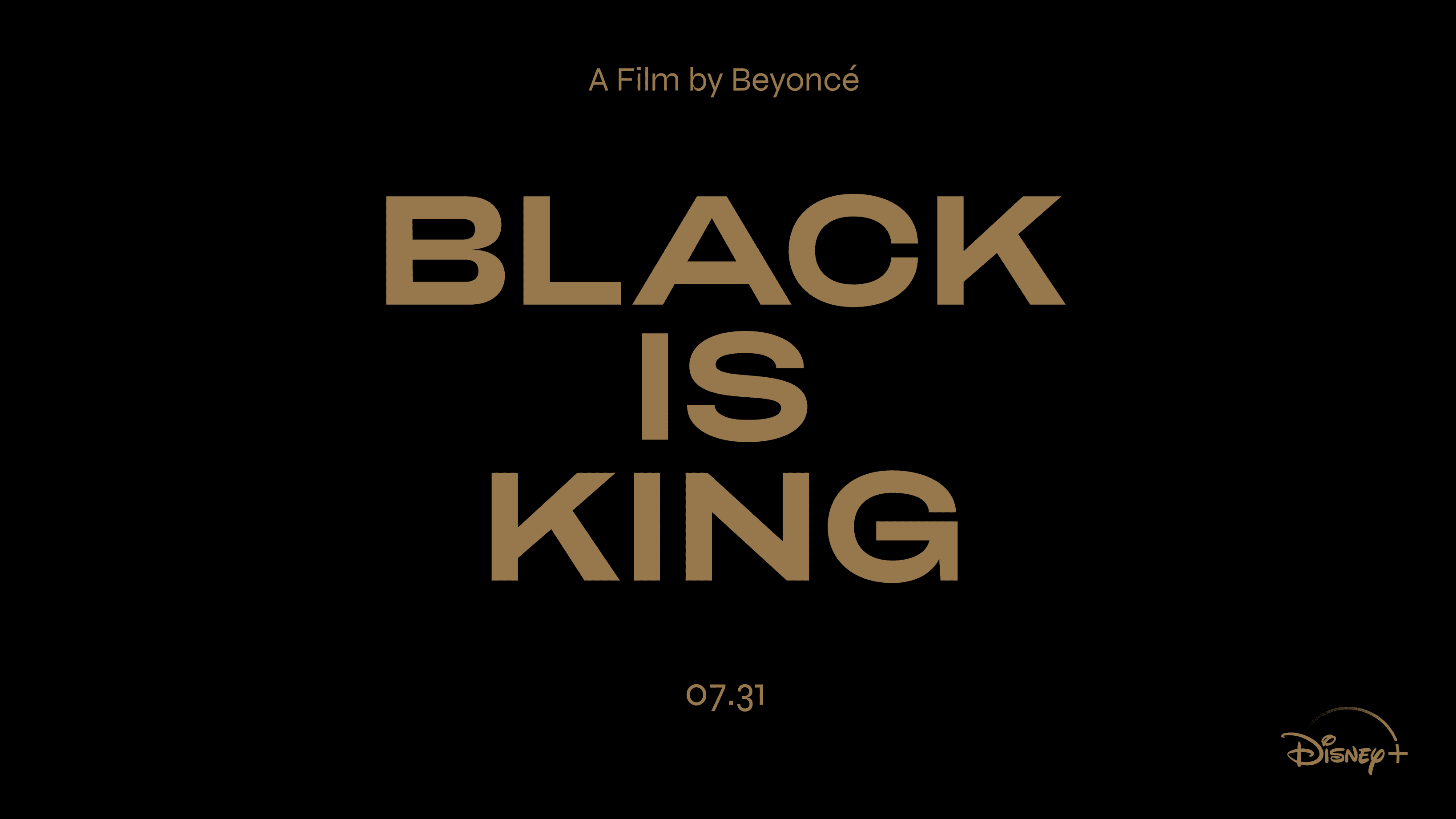 Black Is King by Beyonce on Disney Plus
