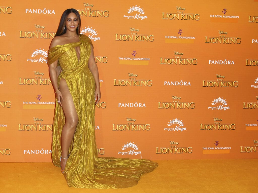 The new film by Beyoncé is inspired by Disney's live-action remake of The Lion King, which released in 2019 [Source: NPR]