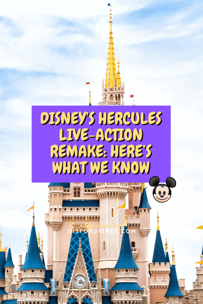 Pinterest Pin for Disney's Hercules Live-Action Remake: Here's What We Know