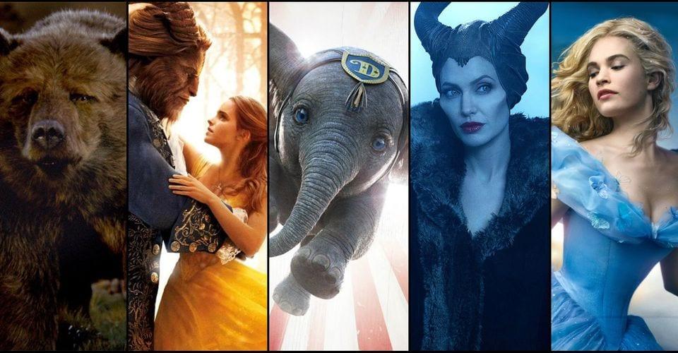 Disney Live-Action Remakes [Source: Screenrant]