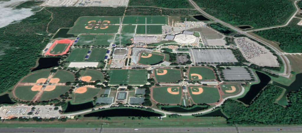 How Will the NBA Affect Disney World This Summer? [Source: The New York Times / Google Earth]