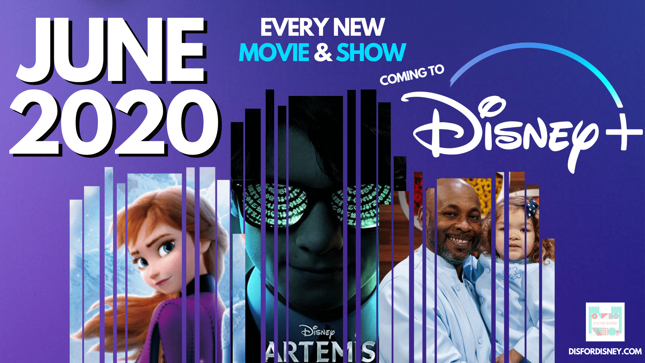 Everything Coming to Disney+ June 2020: Full Release Schedule