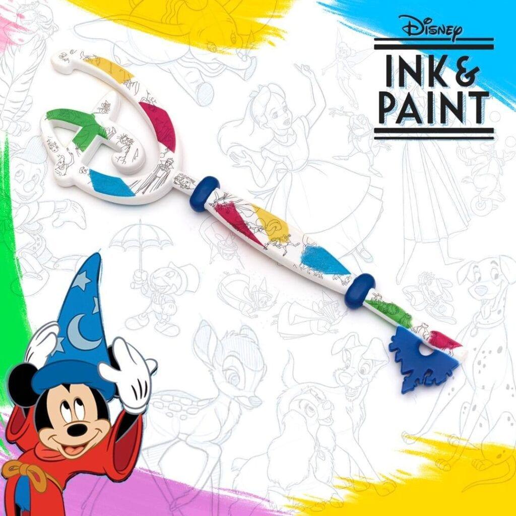 Disney Storey Ink and Paint Key (2020) [Source: Shop Disney UK via Facebook]