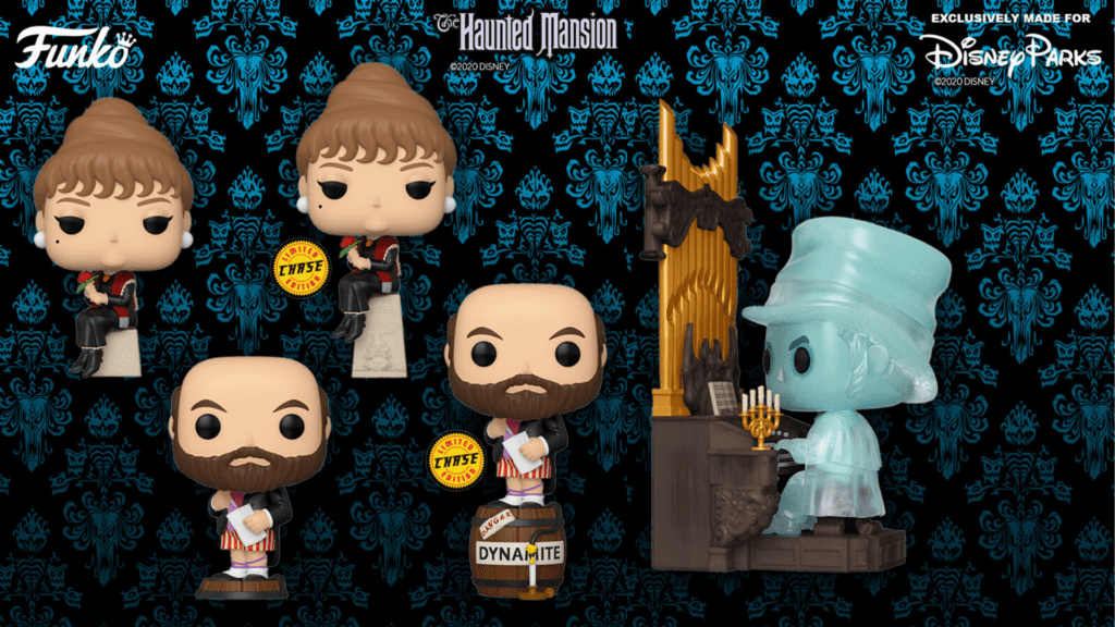 Haunted Mansion Stretching Room Portraits Funko Pops Now at BoxLunch [Source: Funko/Disney Parks]