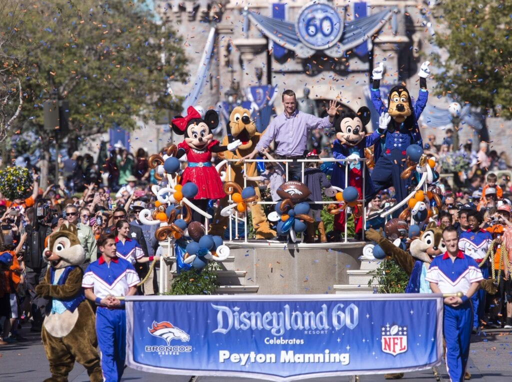Disneyland and Sports Go Way Back... [Source: The Points Guy / Paul Hiffmeyer / Disneyland Resort / Getty Images]