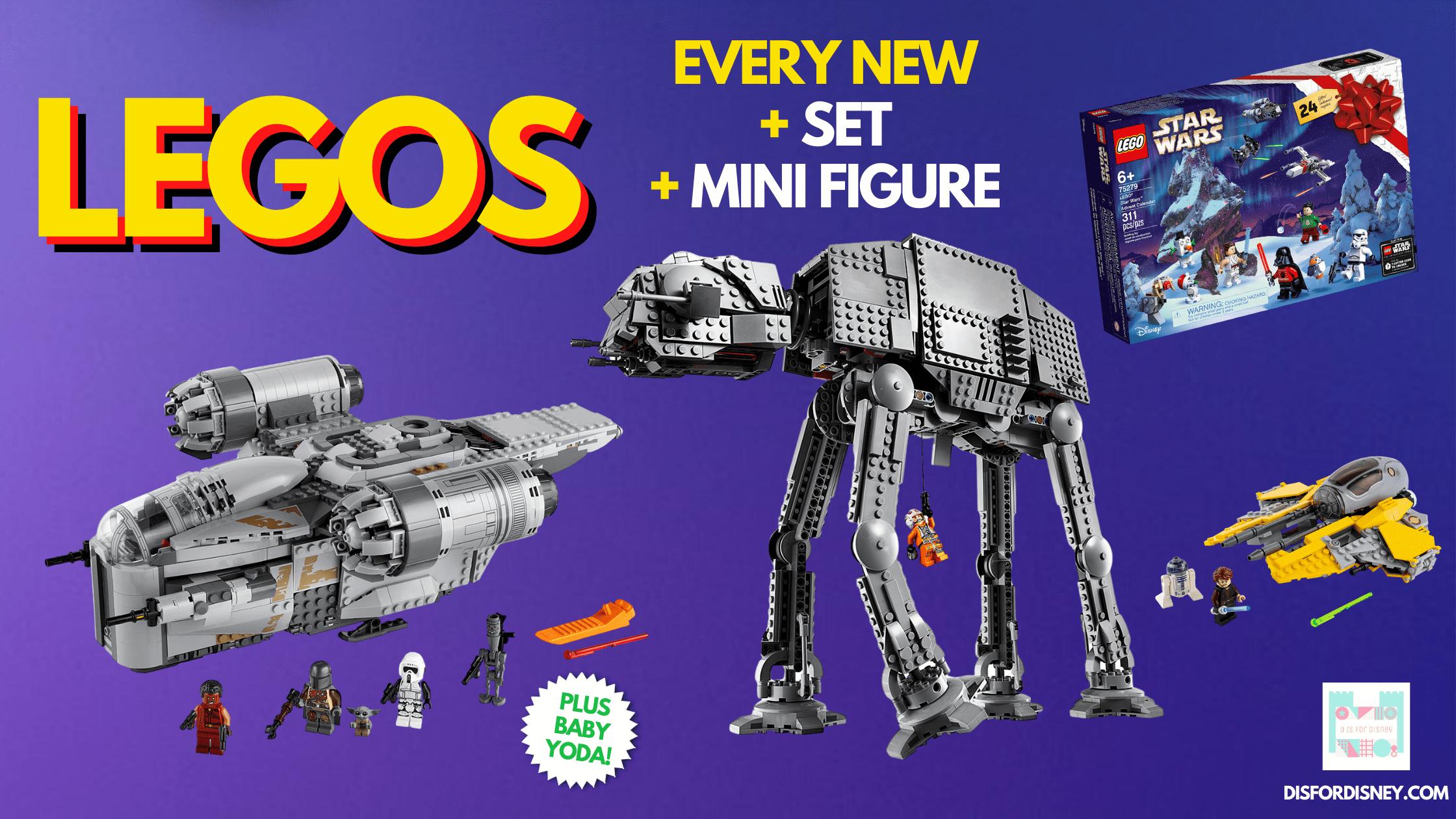 10 New LEGO Star Wars Sets Celebrate 'The Skywalker Saga'