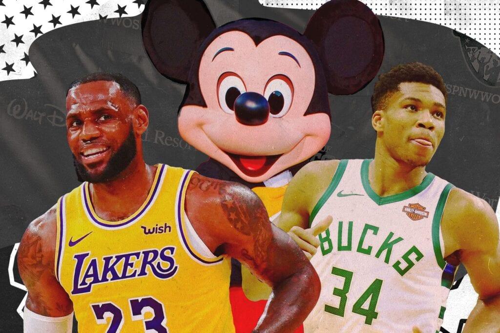 The NBA at Walt Disney World [Source: SB Nation]