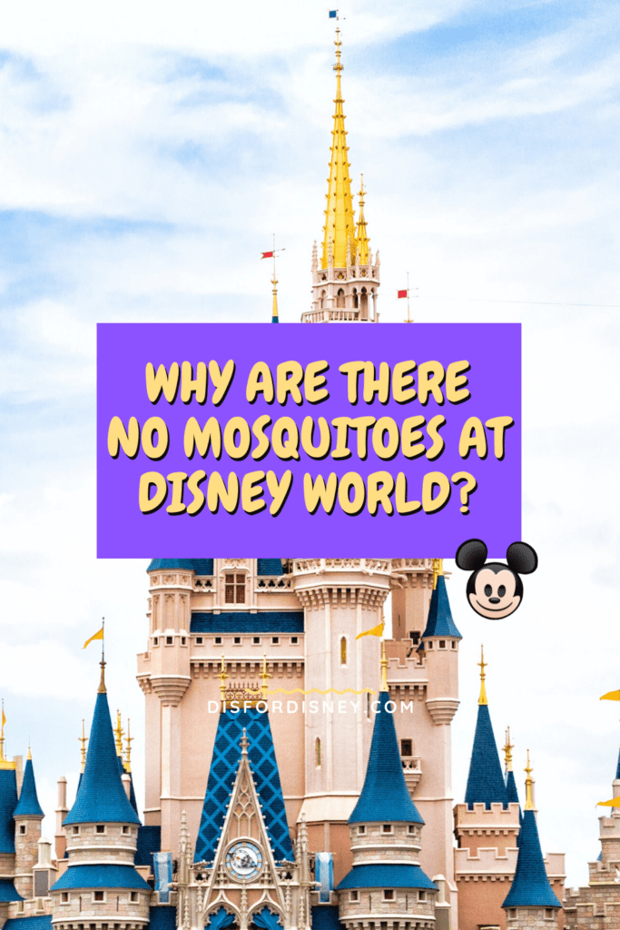 Pinterest Pin for Why Are There No Mosquitoes at Disney World?