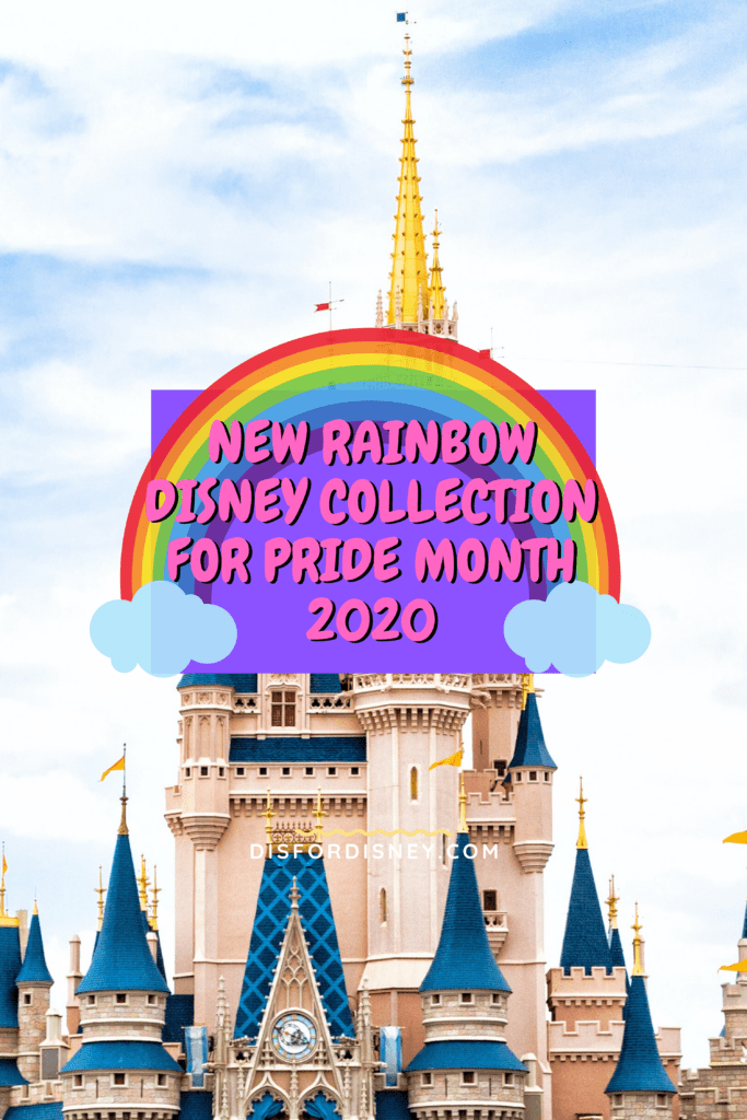 New Rainbow Disney Collection for Pride Month 2020 Pinterest Pin