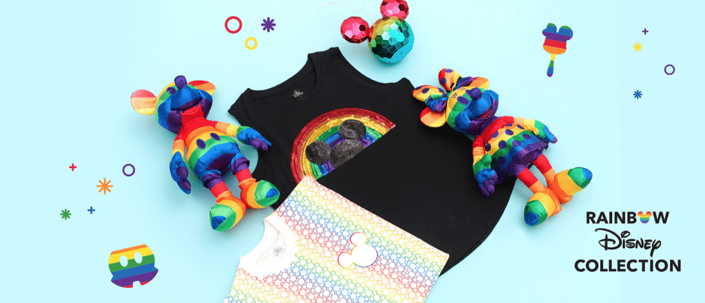 New Rainbow Disney Collection for Pride Month 2020 [Source: ShopDisney]