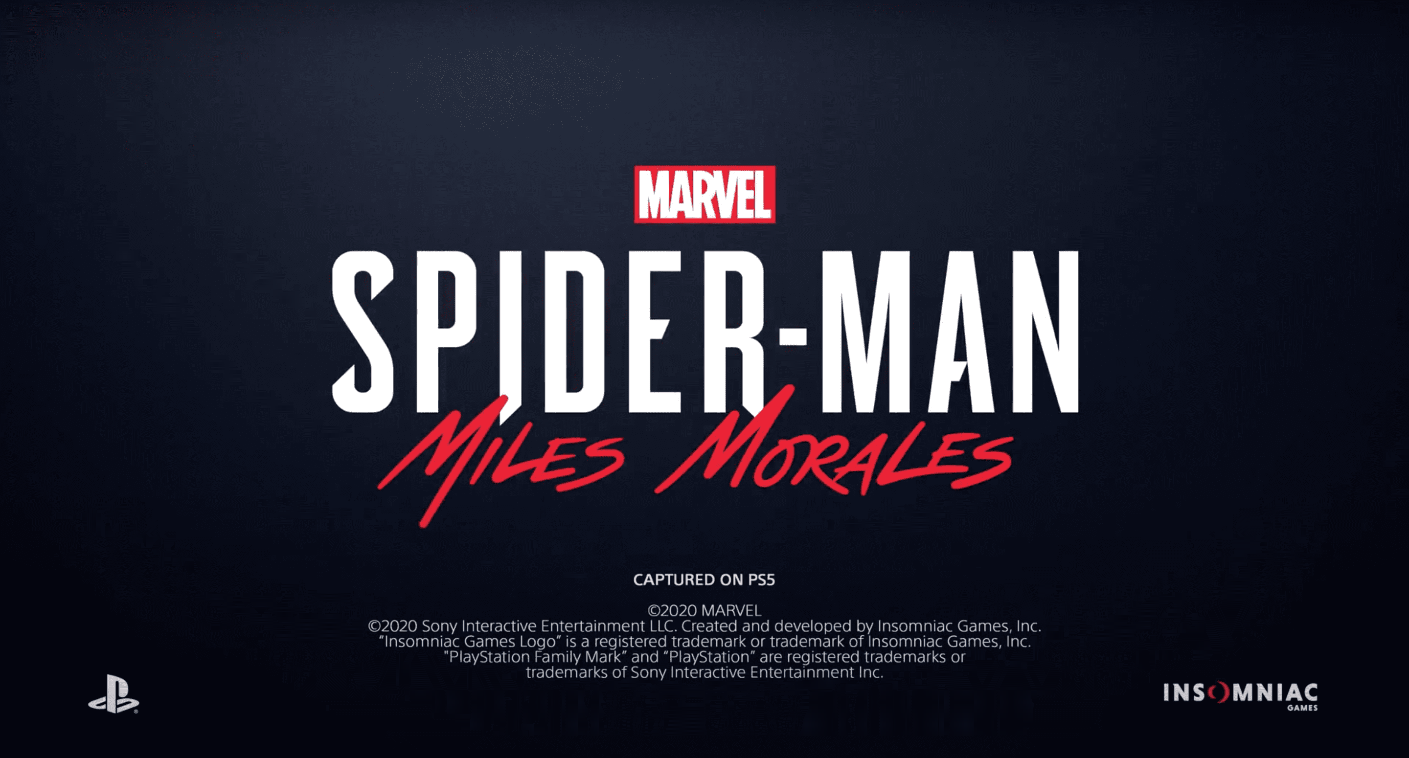 Marvel 'Spider-Man: Miles Morales' on PS5