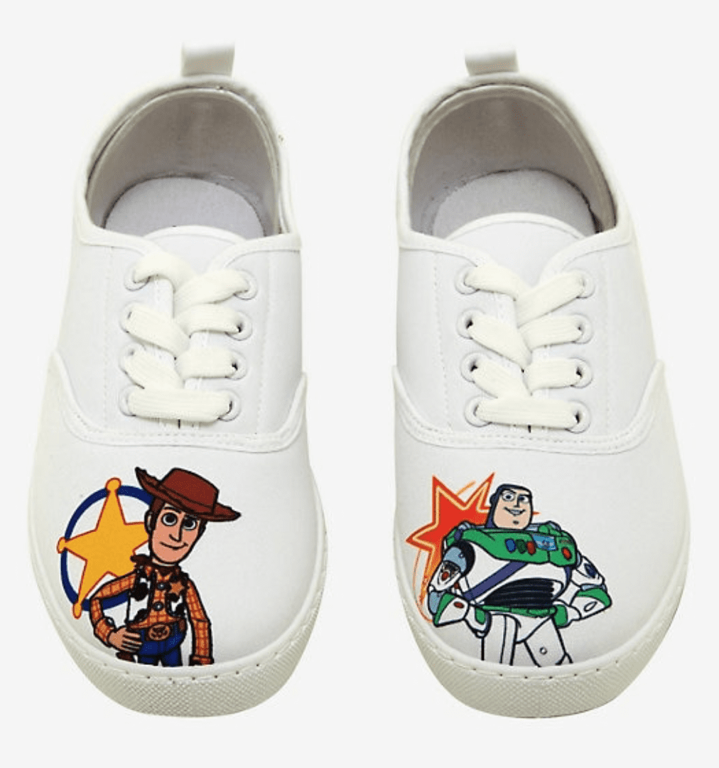 Disney Lace-Up Sneakers at Hot Topic