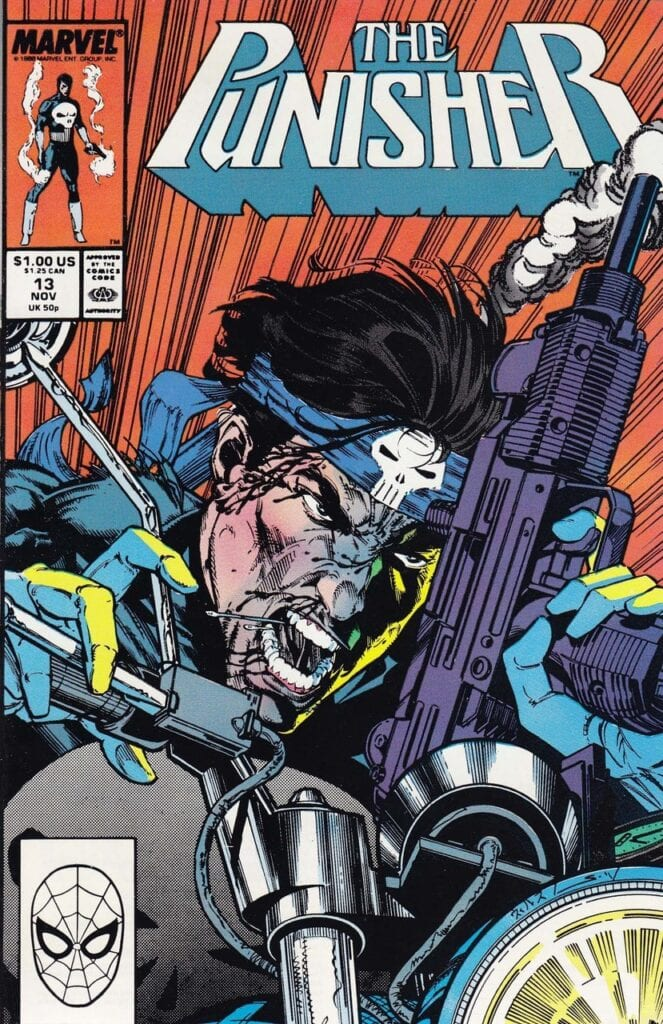 The Punisher Comic Book Cover [Source: Marvel Comics]