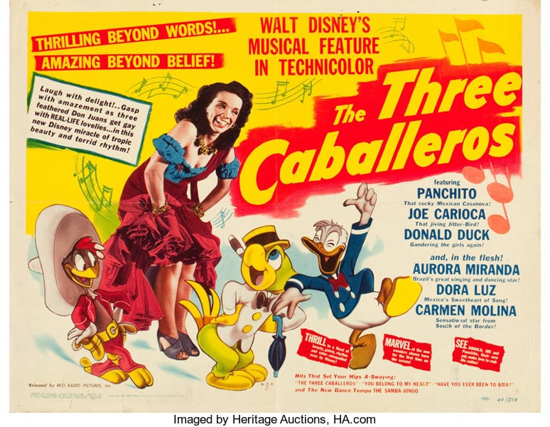 The Three Caballeros [Source: Heritage Auctions]