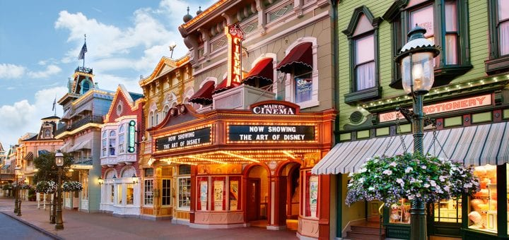 Buildings at Disney World [Source: Mickey Blog]