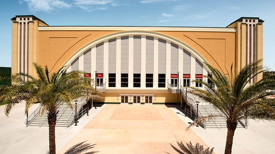 The Arena at ESPN Wide World of Sports Complex at Disney World [Source: ESPNWWOS]