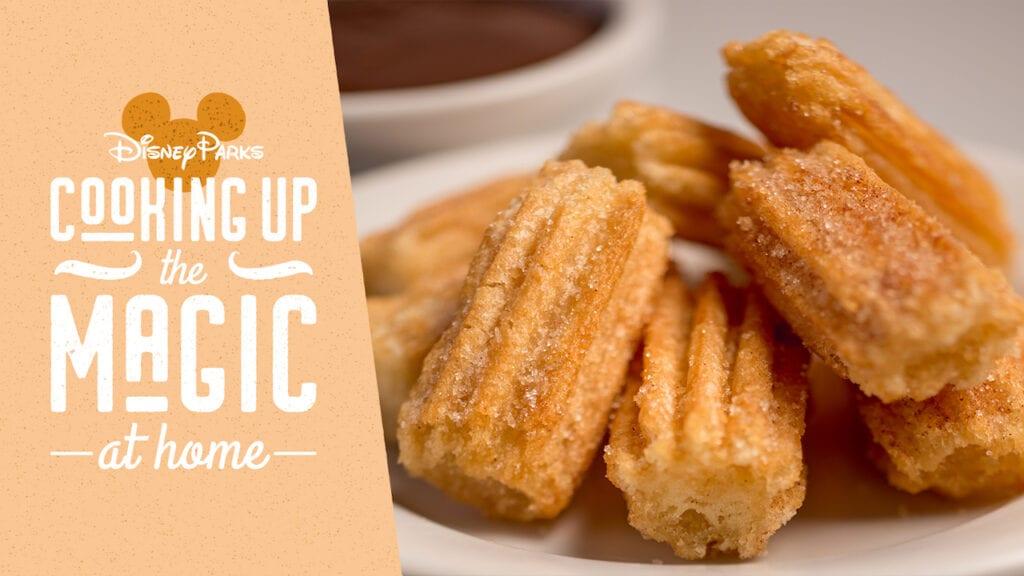 Disney Churro Recipe: Make Magical Food at Home [Source: Disney Parks]