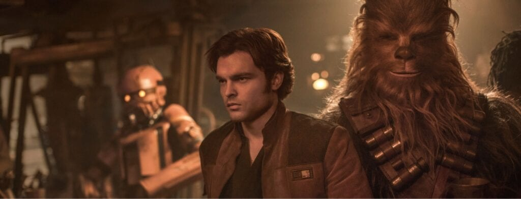 Han and Chewbacca in Solo: A Star Wars Story [Source: Disney]