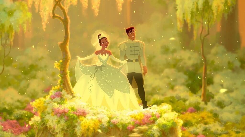 Princess Tiana and Prince Naveen [Source: Disney Princess]