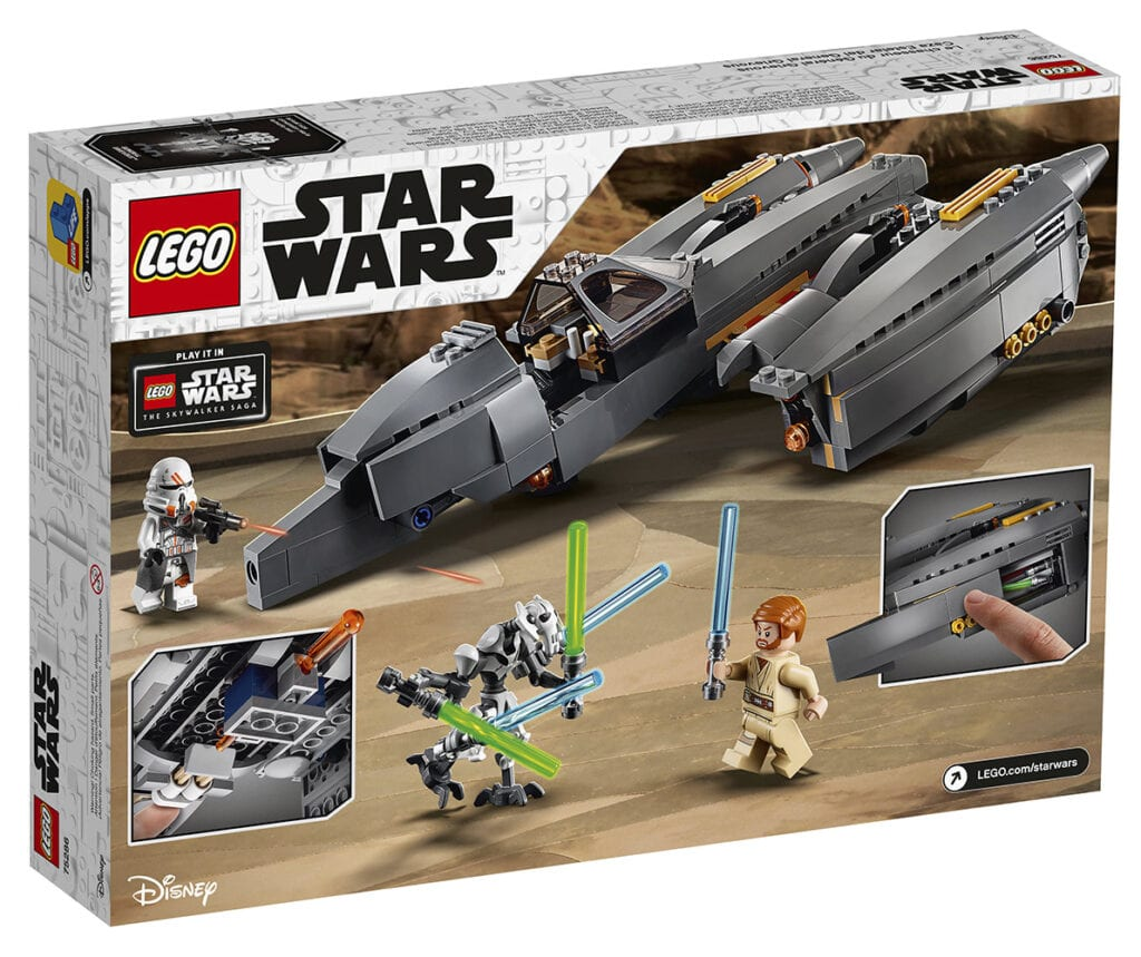 LEGO Star Wars: General Grievous's Starfighter [Source: Star Wars]