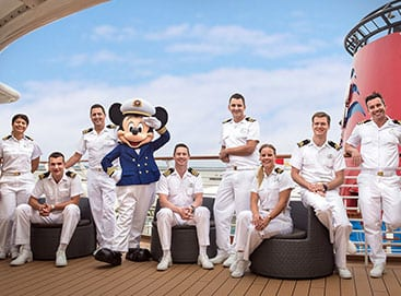 Disney Cruise with Mickey Mouse [Source: Disney Careers]