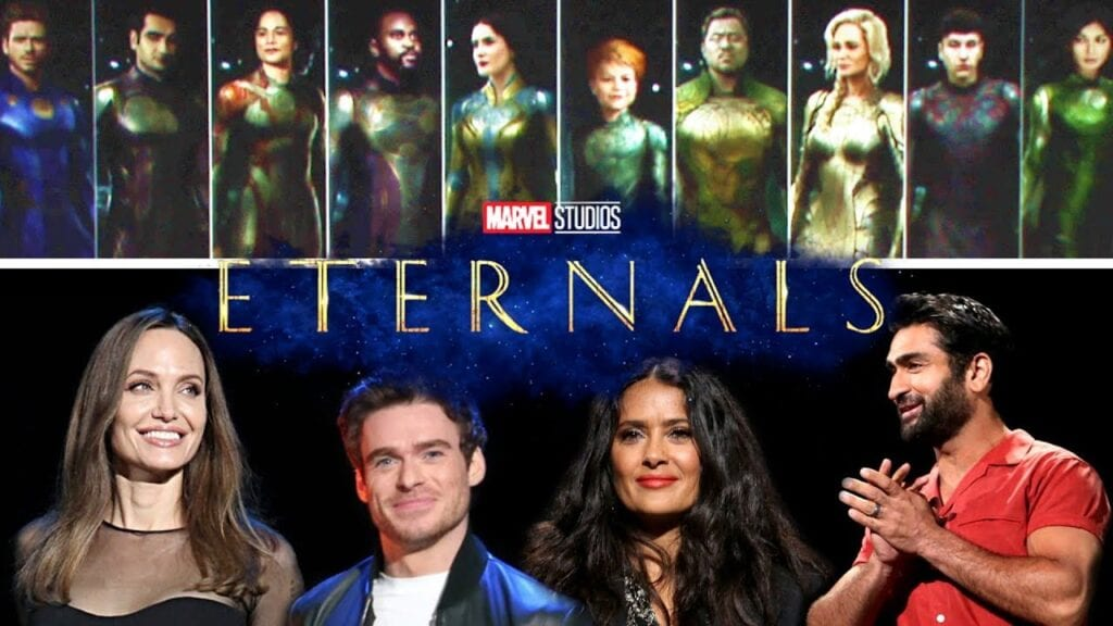 The Eternals Cast [Source: YouTube]
