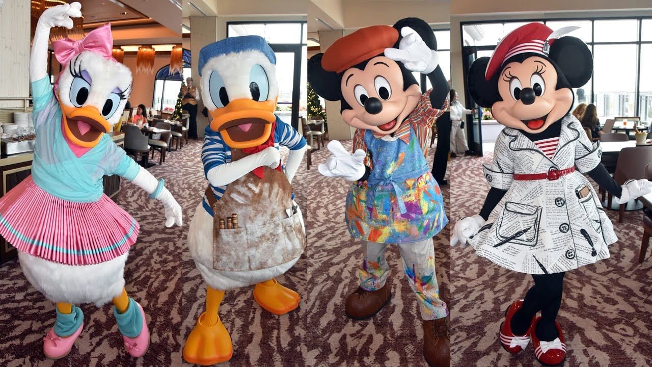 Character Breakfast at WDW