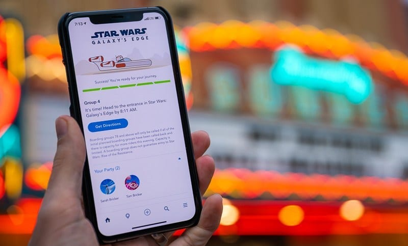 The New Disney Standby Pass Virtual Queue System [Source: Disney Tourist Blog]