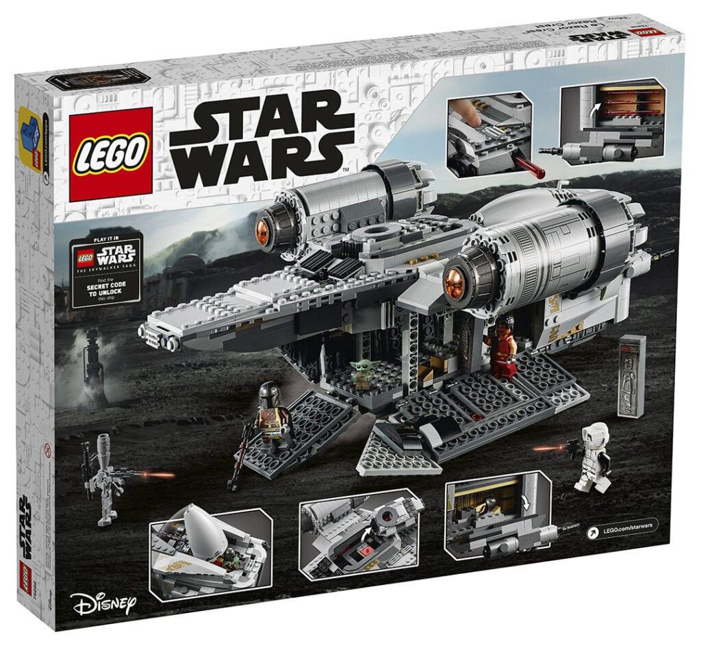 LEGO Star Wars: The Razor Crest with Unlock Code [Source: Star Wars]