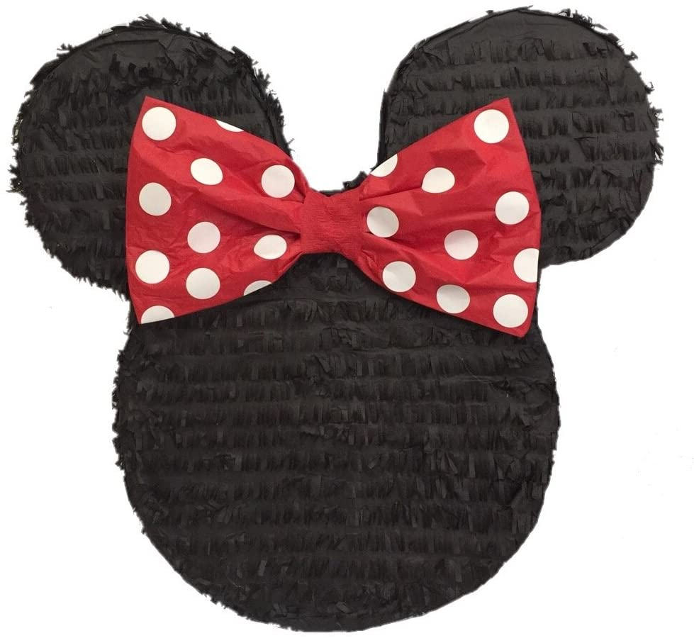Minnie Mouse Piñatas for Birthday Fun in Disney Style