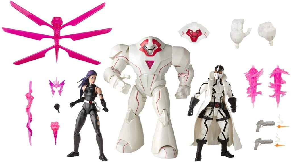 The recently announced Hasbro Marvel Legends Nimrod 3-Pack is now officially available for fans to pre-order on Amazon. The Marvel Legends Nimrod 3-Pack comes with Psylocke, Nimrod, and Fantomex. See all the marvelous details below.
