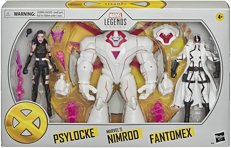 Marvel Legends Nimrod 3 Pack Released for Pre-Order [Source: Amazon]