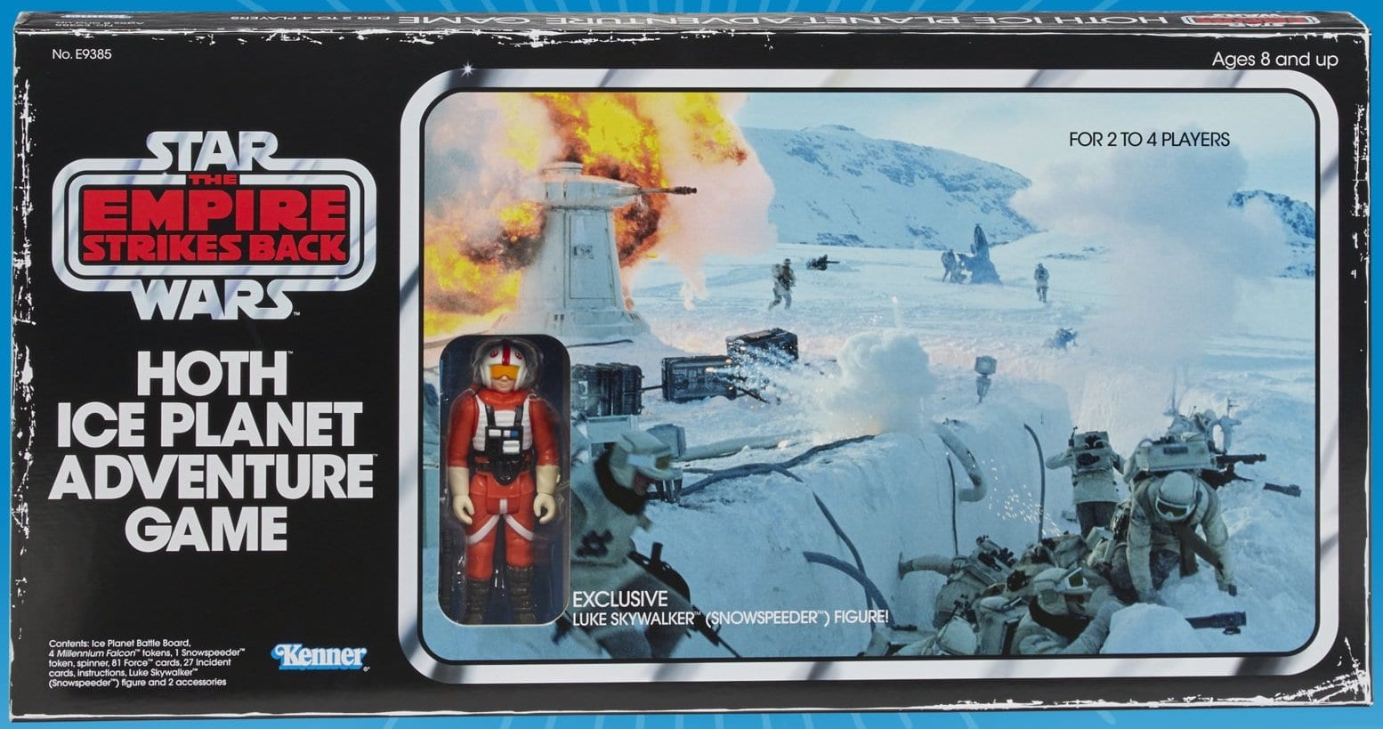 Star Wars Ice Planet Hoth Adventure Board Game Retro