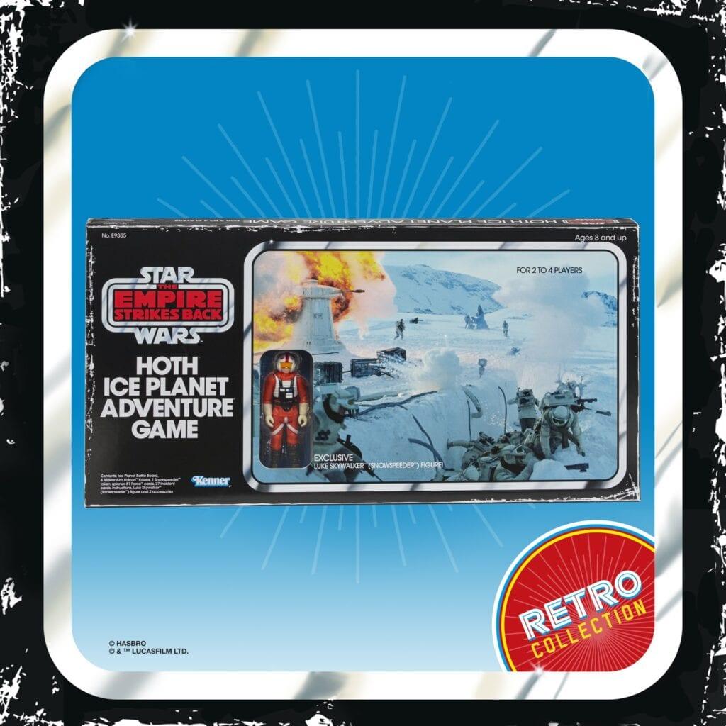 Planet Hoth Star Wars Ice Planet Retro Board Game [Source: Hasbro]