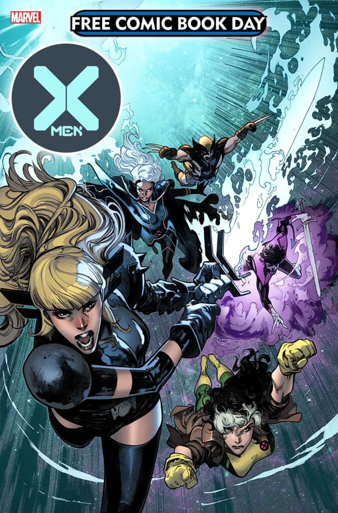 X-Men #1 Free Comic Book Day 2020 [Source: Marvel]