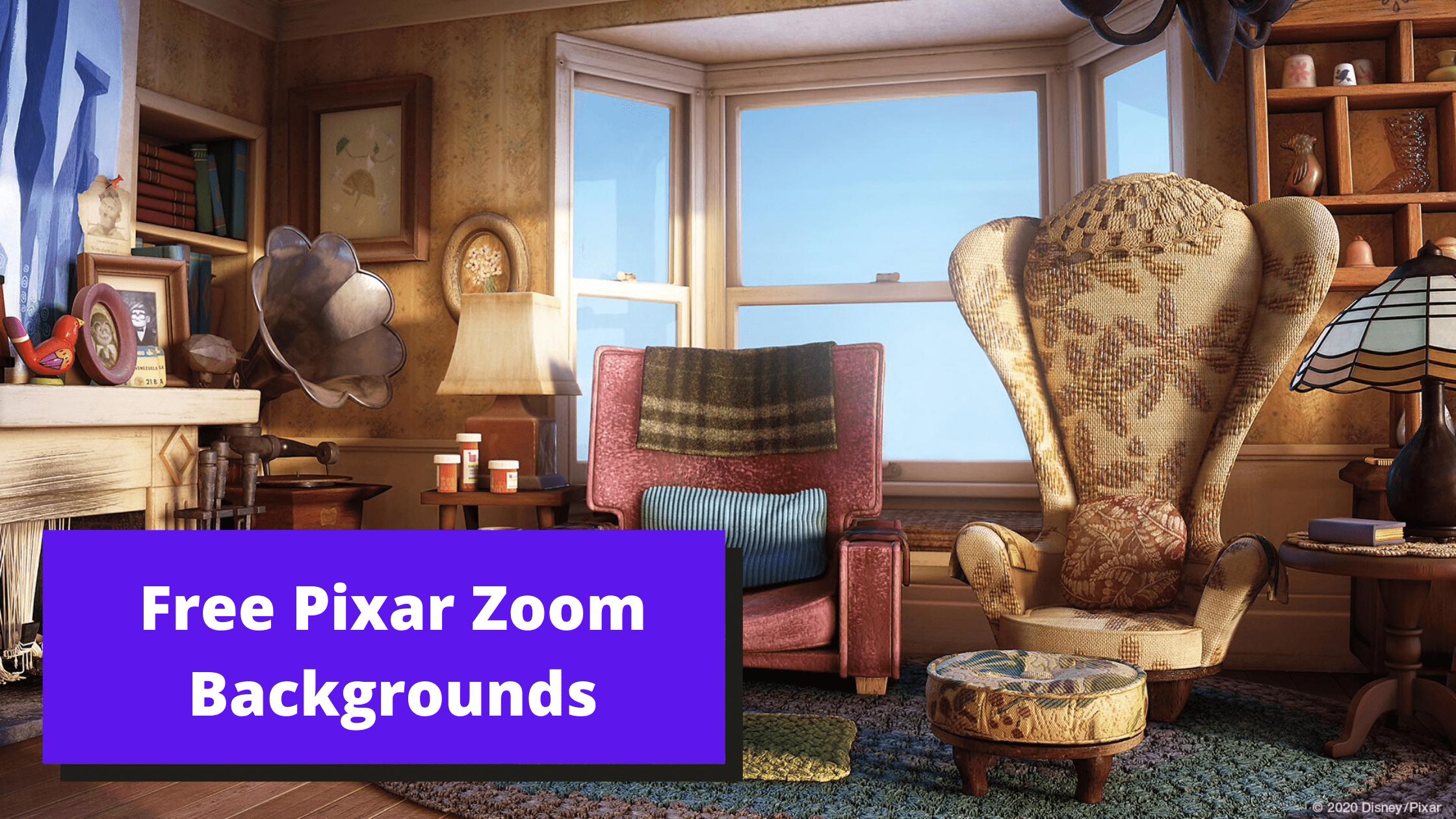 Free Pixar Zoom Backgrounds