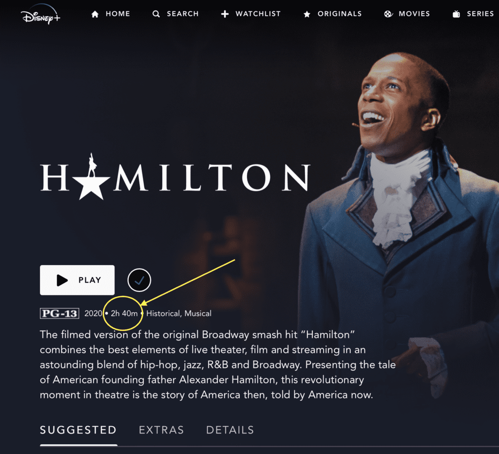 How Long Is Hamilton on Disney Plus? Run Time & More